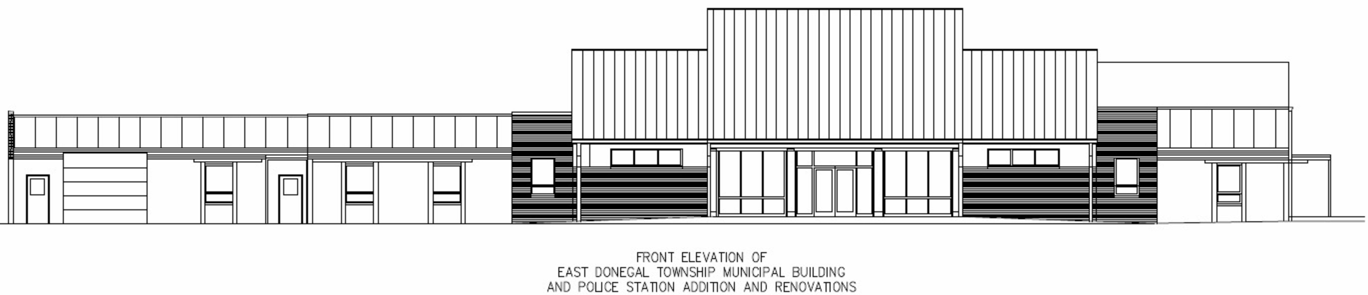 EDT Front Elevation